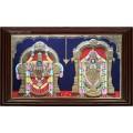Balaji Thaayar Double Emboss Tanjore Painting.Jpeg