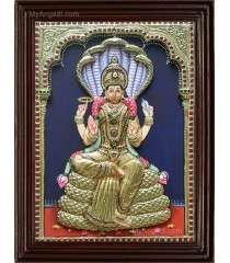 Renuga Devi 3D Tanjore Painting