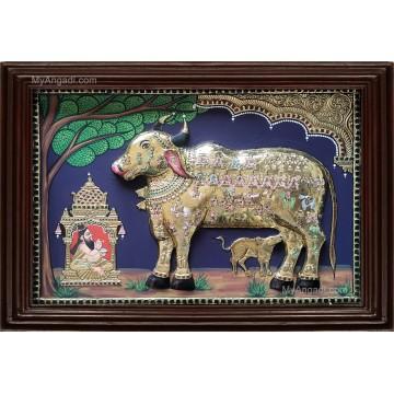 Komatha 3D Tanjore Painting