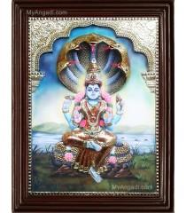 Renuka Devi  3D Tanjore Painting