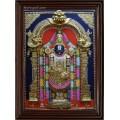 Thirupathi Balaji  3D Tanjore Painting