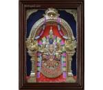 Padmavathi Amman Thaayaar  3D Tanjore Painting