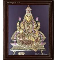 Lakshmi 3D Tanjore Painting