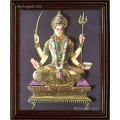 Santhoshi Matha  3D Tanjore Painting