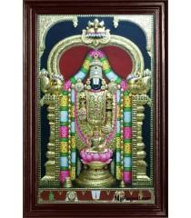 Thirupathi Balaji Super Emboss Tanjore Painting