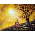 Yoga - Oil Paintings