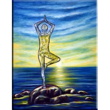 Yoga - Oil Paintings