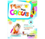 Combo Pack: Books Play with Colours - Shapes, Fruits and Vegetables