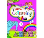Combo Pack: I Love Colouring 4 Volumes