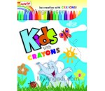 Combo Pack: Kids with Crayon Vol 1 - 4