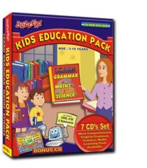 Kids Education Pack 7 CD's