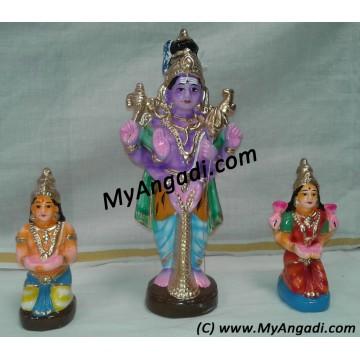 Aishwarya Eswarar Golu Dolls - ஐஸ்வர்யா ஈஸ்வரர் கொலு பொம்மை