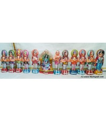 Alwarkal Set Golu Dolls