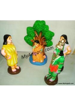 Ashokavanam Seethai Golu Dolls - அசோகவனம் சீதை கொலு பொம்மைகள்