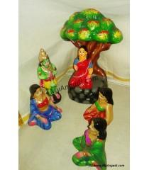 Ashokavanam Seethai Golu Dolls
