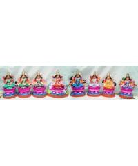 Ashtalakshmi Big Golu Dolls