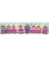 Ashtalakshmi Big Golu Dolls