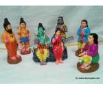 Bharathan Padhukai Golu Dolls