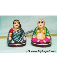 Chettiyar Set Small Golu Dolls