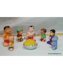 Chotta Bheem Small Golu Dolls