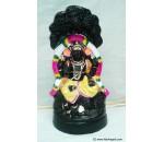 Dakshinamurthy Black Golu Doll