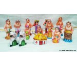Farmer Set Golu Dolls