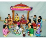 Kalayanam Set Big Golu Dolls
