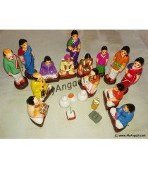 Kalyana Set Small Golu Dolls