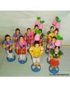Karakattam Set Golu Dolls
