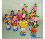 Karakattam Set Golu Dolls