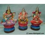 Lakshmi Saraswath Ganesha Golu Dolls