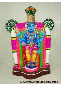 Guruvayurappan Golu Doll / Golu Bommai - குருவாயுரப்பன் கொலு பொம்மை