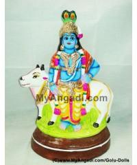 Krishna Cow Golu Doll / Golu Bommai