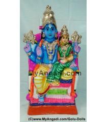 Lakshmi Narayanan Golu Doll / Golu Bommai
