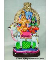 Rishaba Sivan Golu Doll / Golu Bommai
