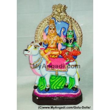 Rishaba Sivan Golu Doll / Golu Bommai - ரிஷப சிவன் கொலு பொம்மை