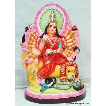 Magishasuramardhini Golu Doll - மகிஷாசுரமர்தினி கொலு பொம்மை