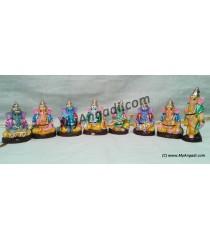 Nava Vinayakar Golu Dolls