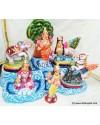Parkadal Aiyvaryam Golu Dolls