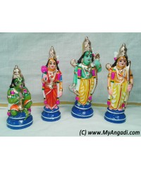 Ramar Set Small Golu Doll