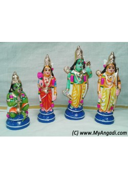 Ramar Set Small Golu Doll - ராமர் தொகுப்பு கொலு பொம்மைகள்