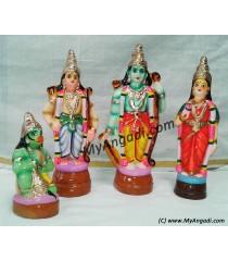 Ramar Set Golu Dolls