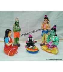 Rameswaram Linga poojai Golu Dolls