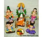 Sathyanarayana Poojai Golu Dolls