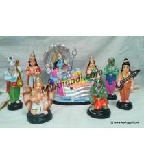 Vaikundam Set Golu Dolls