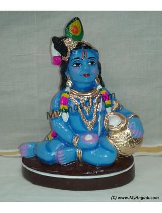 Vennai Krishnar Big Golu Doll - வெண்ணை கிருஷ்ணர் பெரியது கொலு பொம்மை