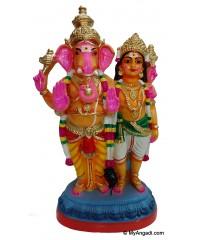 Vinayakar Murugar Golu Dolls