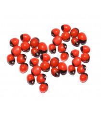 Mantra Siddha Chirmi Red Gunja Seeds for Lakshmi Upasna Sadhna Gurivinta Seeds - 21 Pieces Chirmi Beads