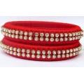 Red Silk Thread Bangle