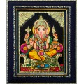 Ganesha Tanjore Paintings